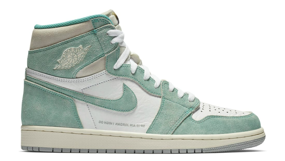 6bb041083ff Air Jordan 1 Retro High OG Turbo Green/Sail-White-Light Smoke Grey ...