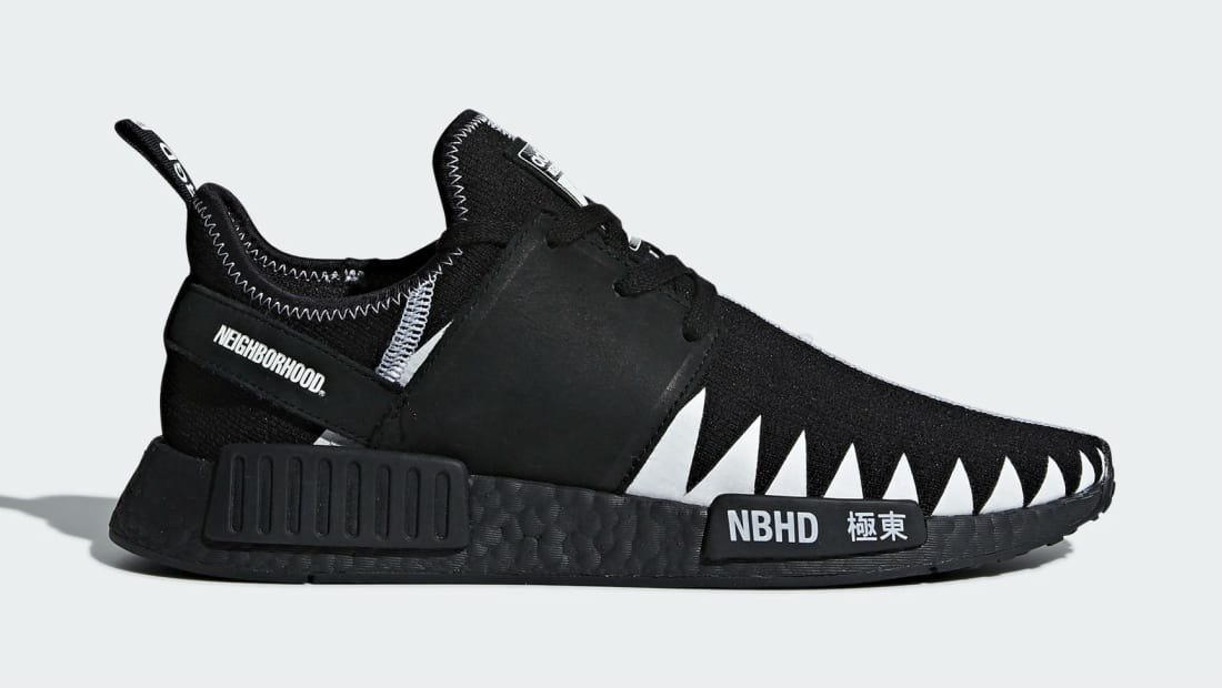 Adidas x Neighborhood NMD_R1 Black/White