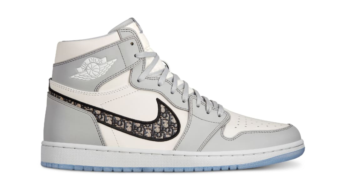 Dior x Air Jordan 1 High SP Wolf Grey/Sail-Photon Dust-White