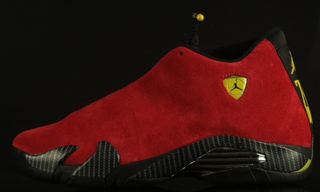 a324552fa2c019 Air Jordan 14 Retro Challenge Red Black-Vibrant Yellow-Anthracite ...