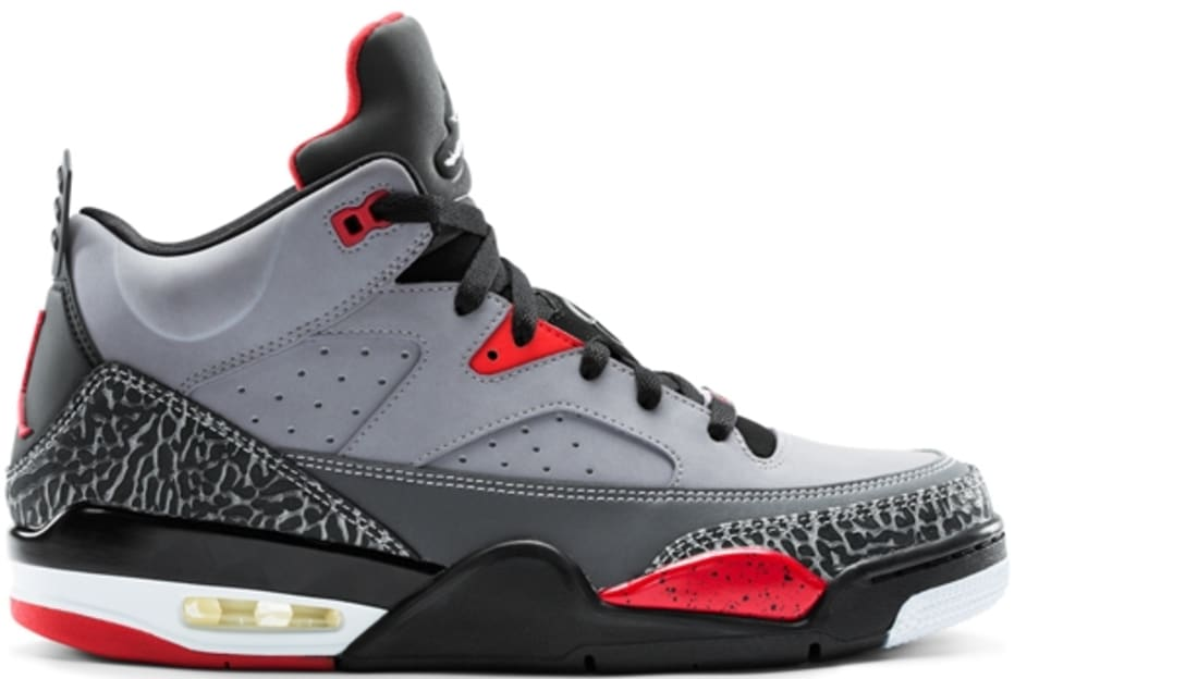 Jordan Son Of Mars Low Cement Grey White-Black-Fire Red  3b71b1041