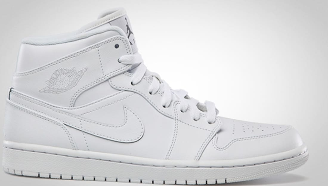 bc10a844737 Air Jordan 1 Mid White Cool Grey