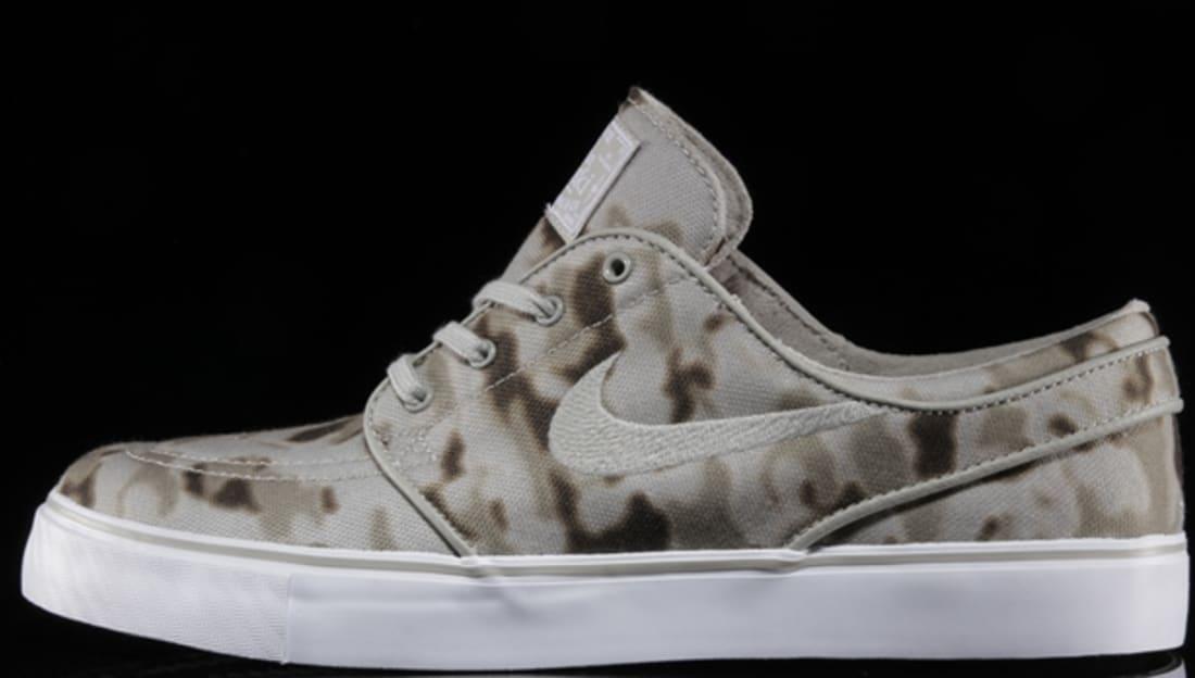 Nike Zoom Stefan Janoski SB Medium Khaki/Beige Chalk-White