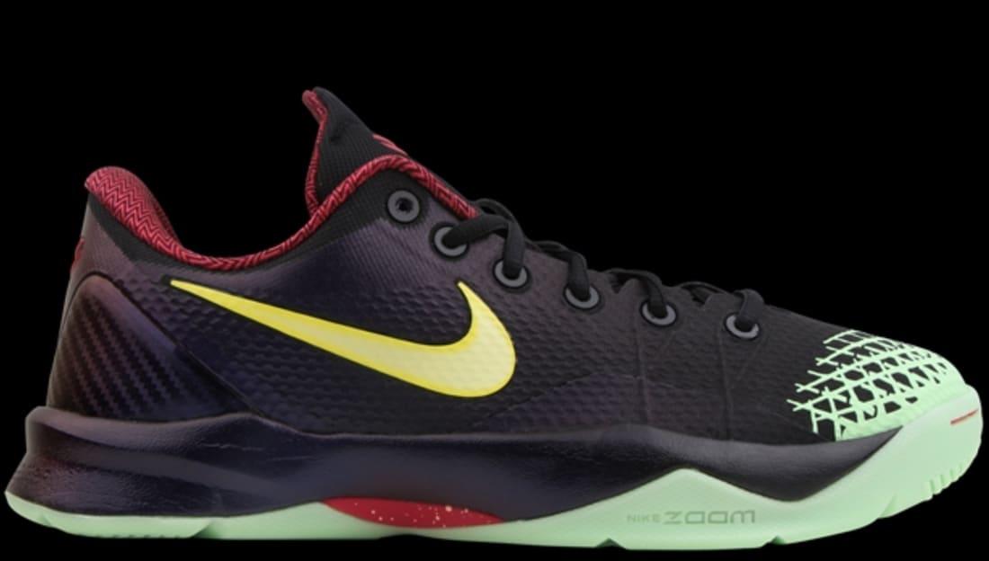 1dad20738687 Nike Zoom Kobe Venomenon 4 Black Lemon Chiffon-Court Purple