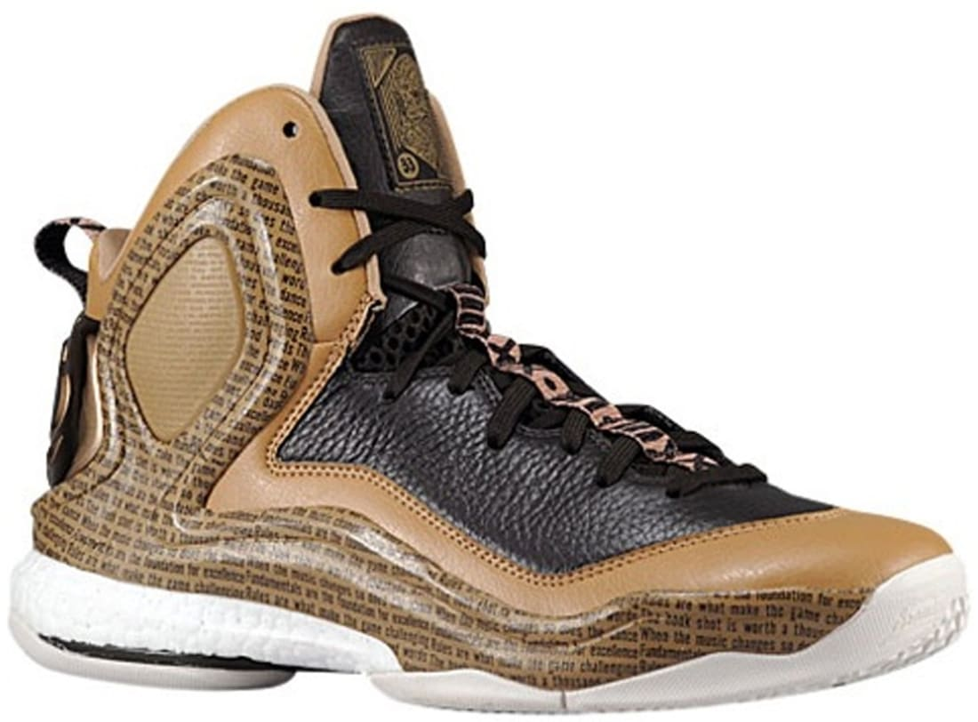 adidas D Rose 5 Boost Cardboard/Light Brown-Night Brown