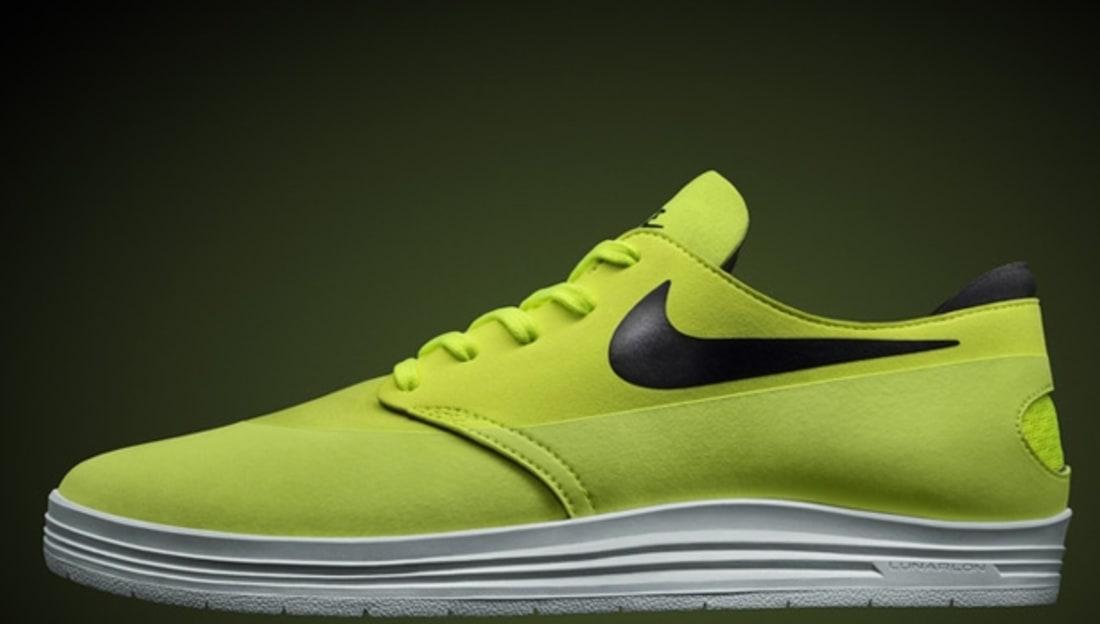 online retailer 5720c daa93 Nike Lunar One Shot SB Volt Black