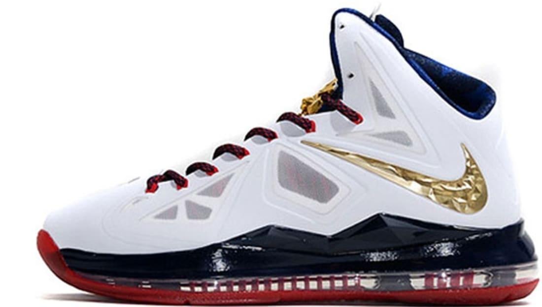 new arrival b96fc dc149 Nike · Nike LeBron · Nike LeBron 10 (X). Nike LeBron X+ Sport Pack Gold  Medal