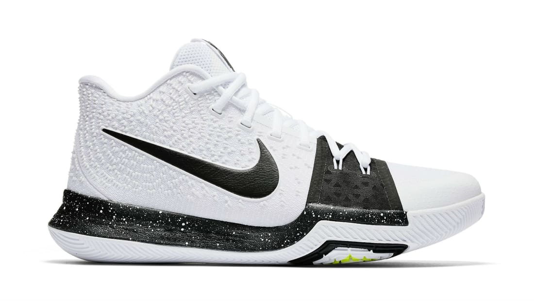 2d404a4014d4 Nike · Nike Kyrie · Nike Kyrie 3. Nike Kyrie 3 White Black-Volt