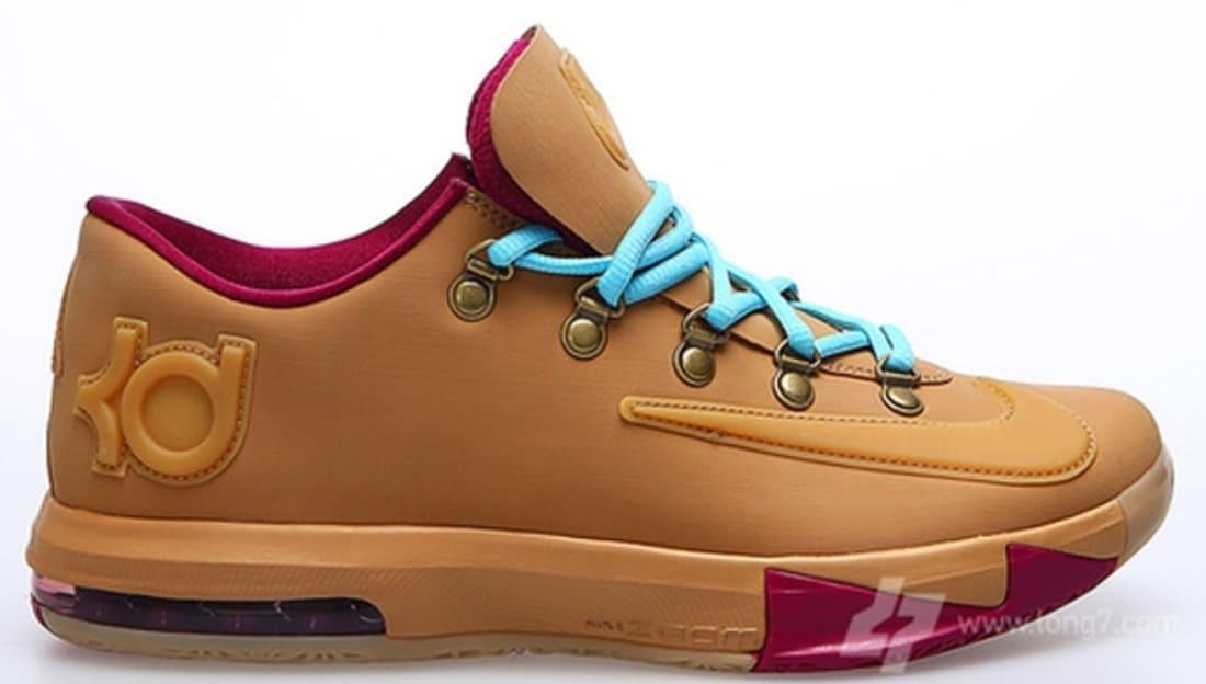 f8deef26f73c Nike · Nike KD · Nike KD 6 (VI). Nike KD VI EXT Gum QS Gum Light Brown Gum  ...