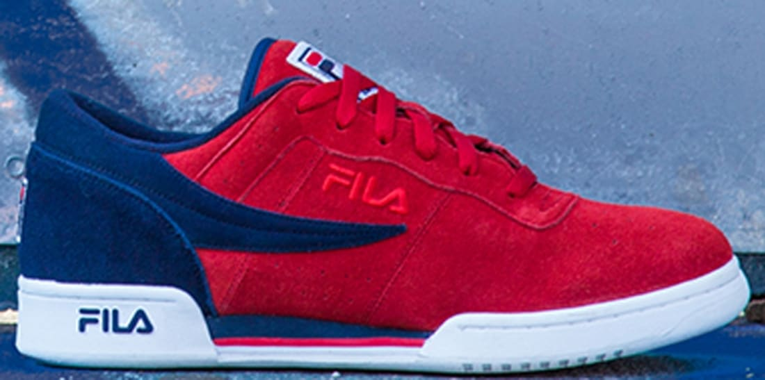 Fila Original Fitness Red/Royal-White
