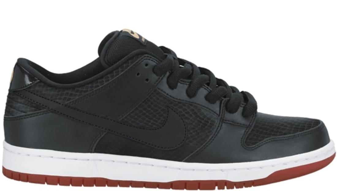 premium selection 8986f f71ce Nike Dunk Low Premium SB Black/Black-University Red | Nike ...