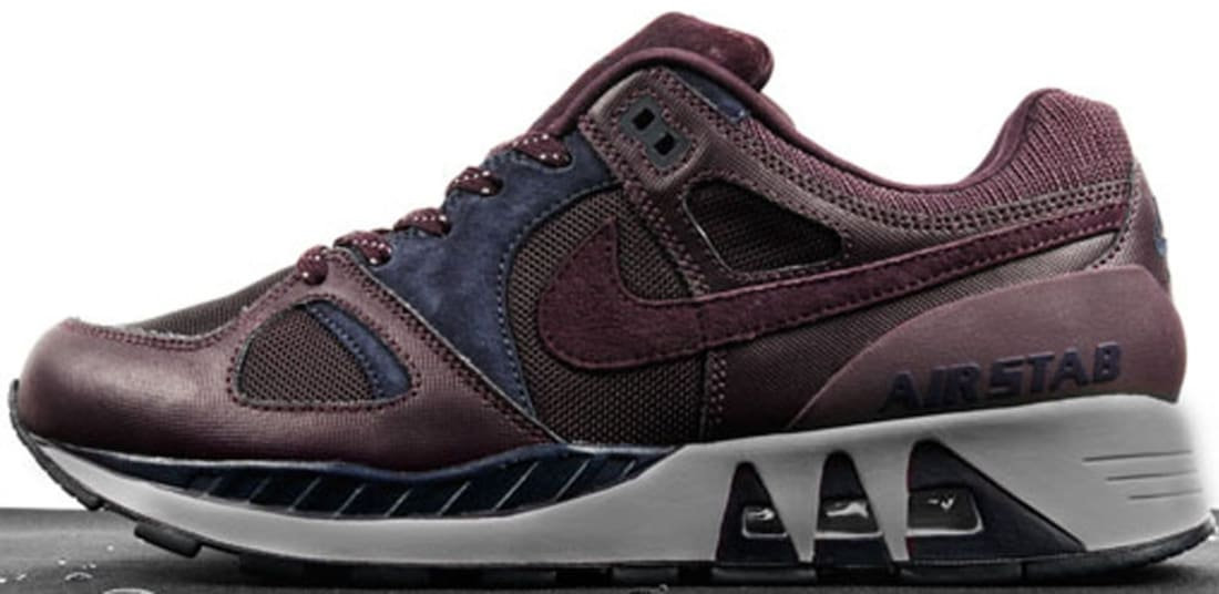 Nike Air Stab Maroon/Deep Navy