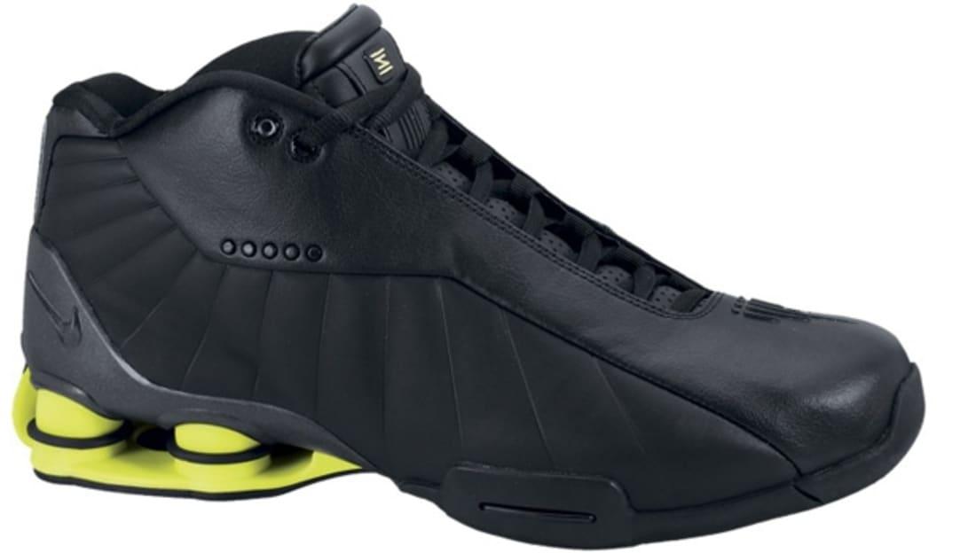 huge selection of 26df4 6f6ce Nike Shox BB4 HOH Black Black-Volt
