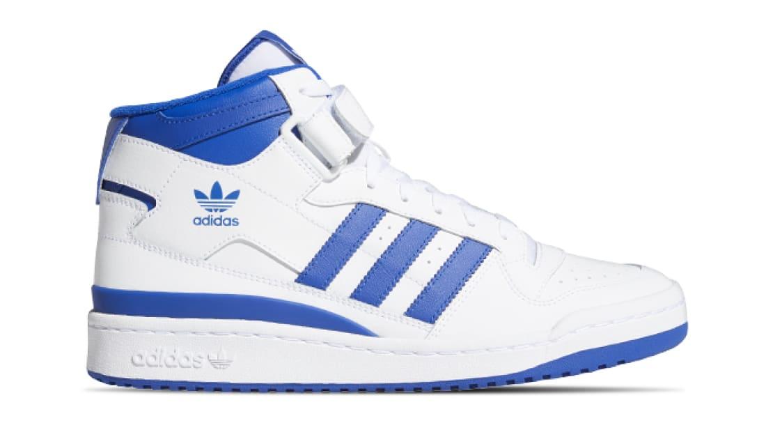 Adidas Forum Mid White/Team Royal Blue/White