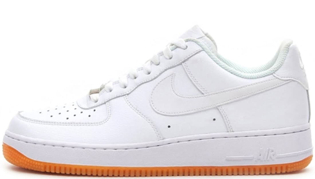 timeless design aa81a 0a90d Nike Air Force 1 Low White/White-Gum Medium Brown | Nike ...