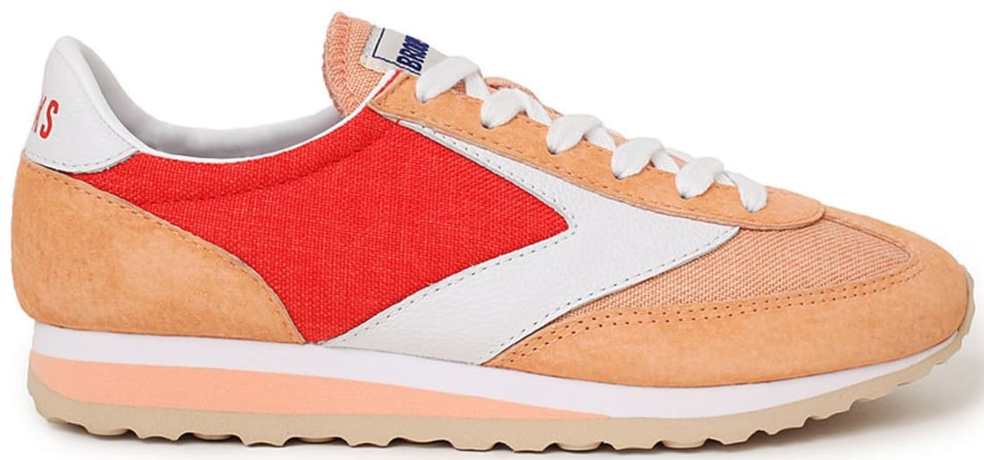 Brooks Vanguard Women's Grenadine/Apricot Wash-White