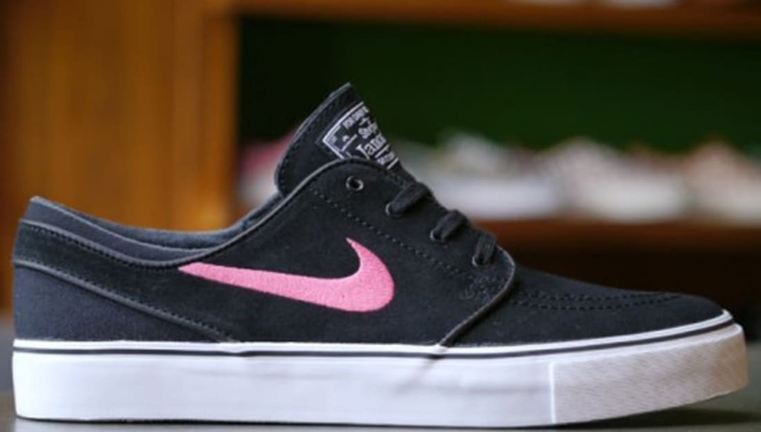 Nike Zoom Stefan Janoski SB Black/Pink Foil