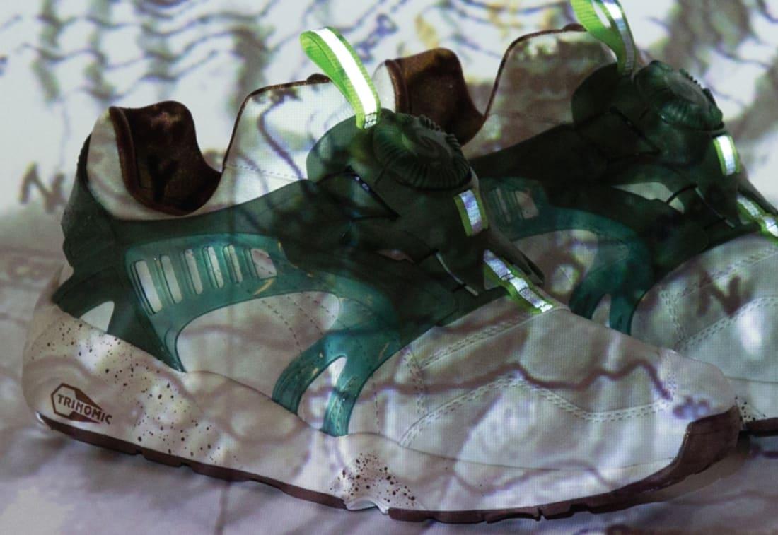 Puma Disc Blaze White/Green-Brown