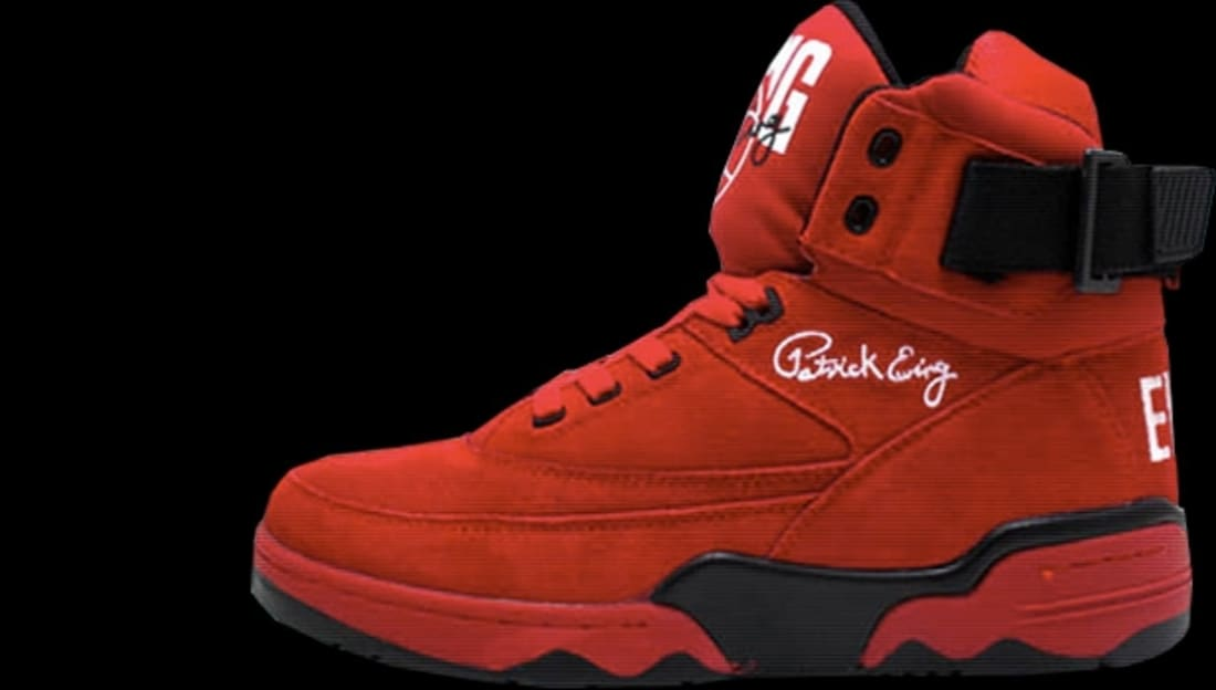 online store c6774 77522 Ewing Athletics Ewing 33 Hi Red Black