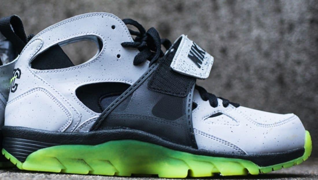 Nike Air Trainer Huarache Premium NYC QS Wolf Grey/Black-Volt