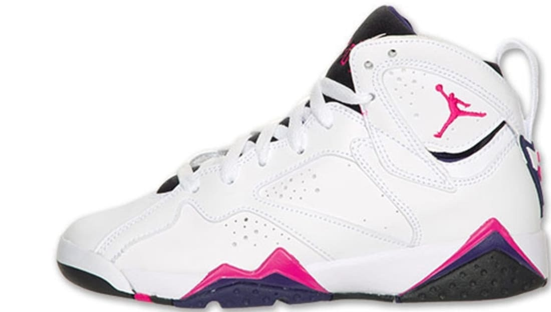 new concept 1e5d3 fb75e Girls Air Jordan 7 Retro GS Fireberry
