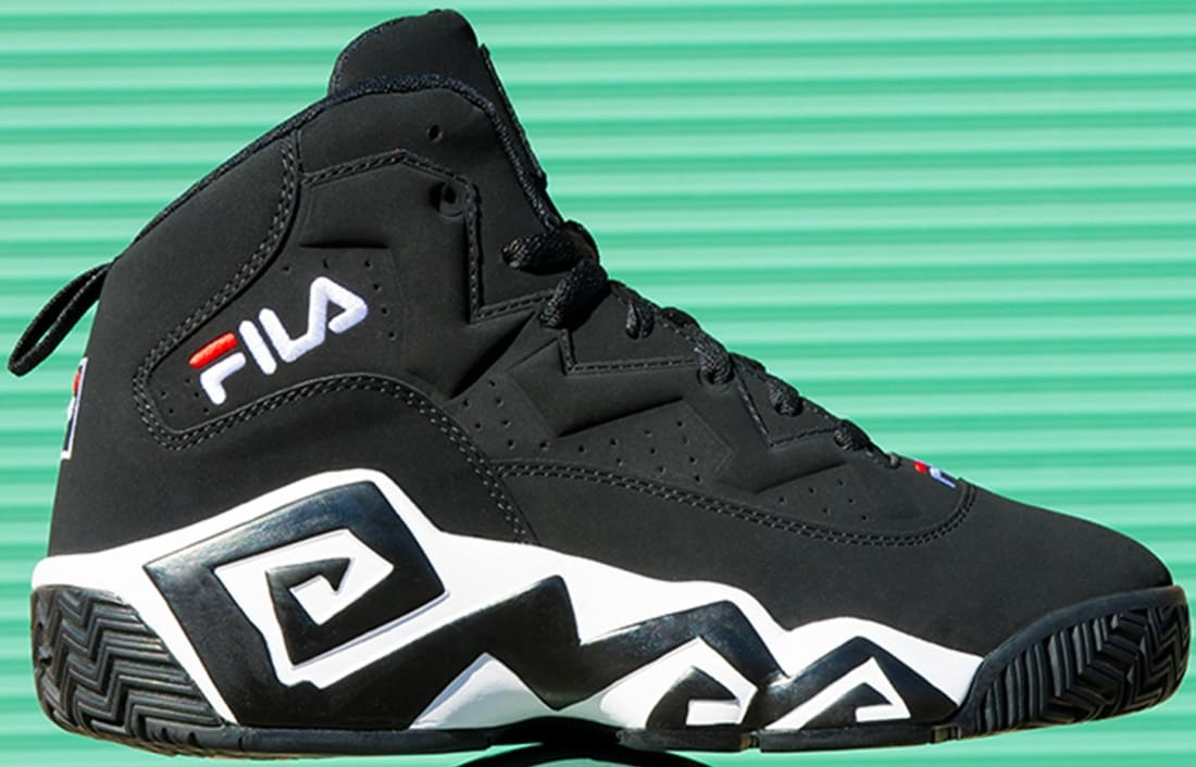 Fila MB Black/White-Fila Red