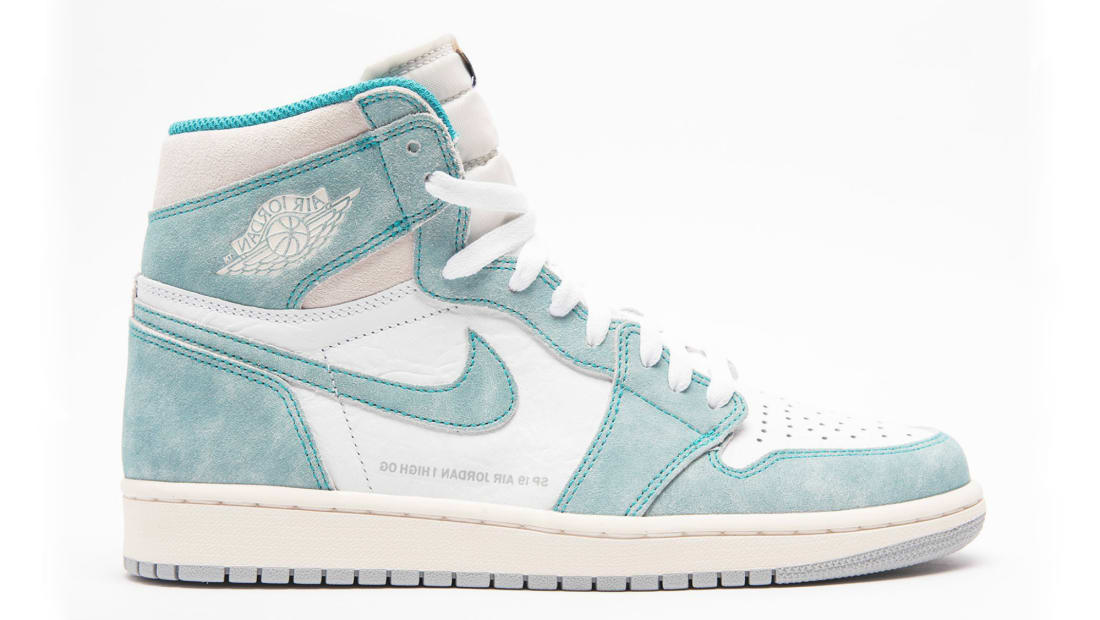 Air Jordan 1 Retro High OG Turbo Green/Sail-White-Light Smoke Grey
