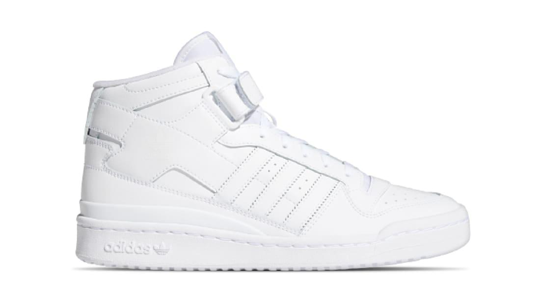Adidas Forum Mid White/White