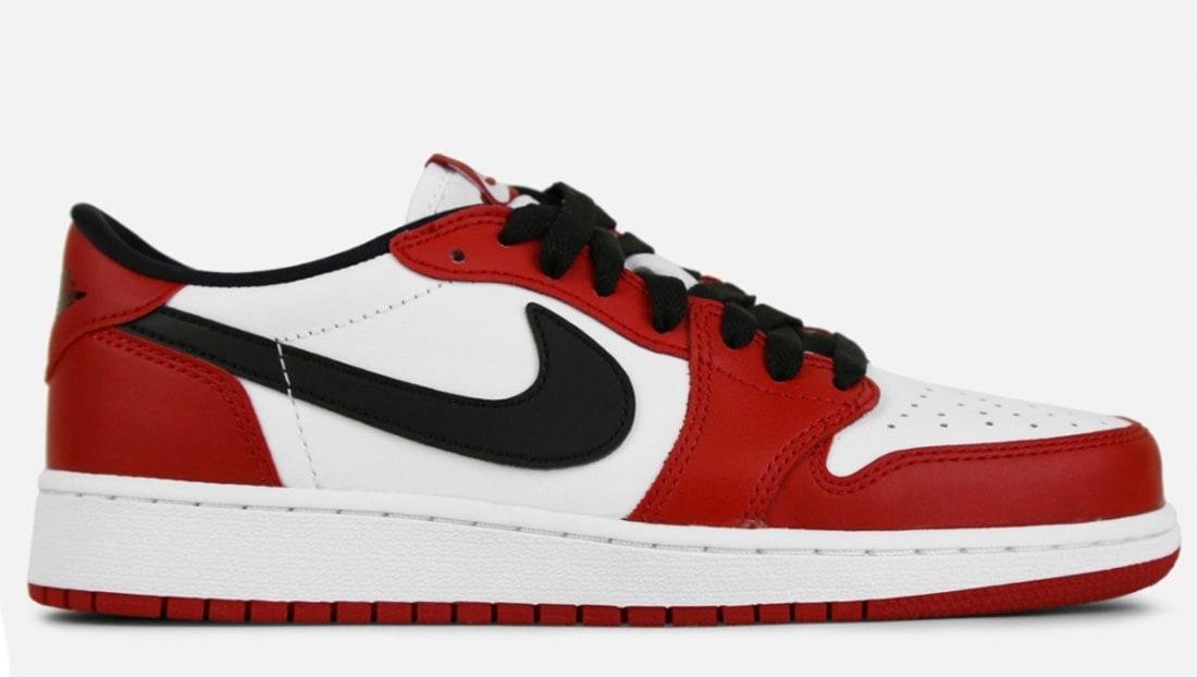 in stock d2267 34524 Air Jordan 1 Retro Low OG  Chicago