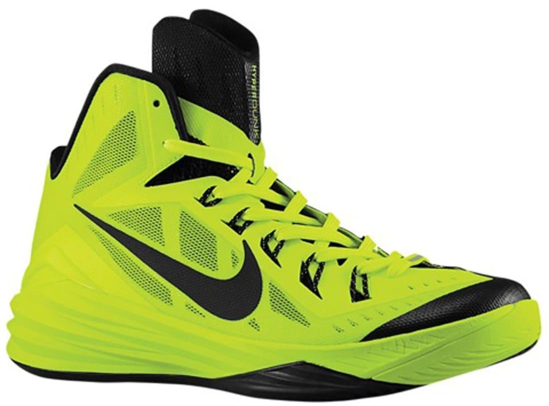 new products 9d347 6cf9d Nike Hyperdunk 2014 Volt Black
