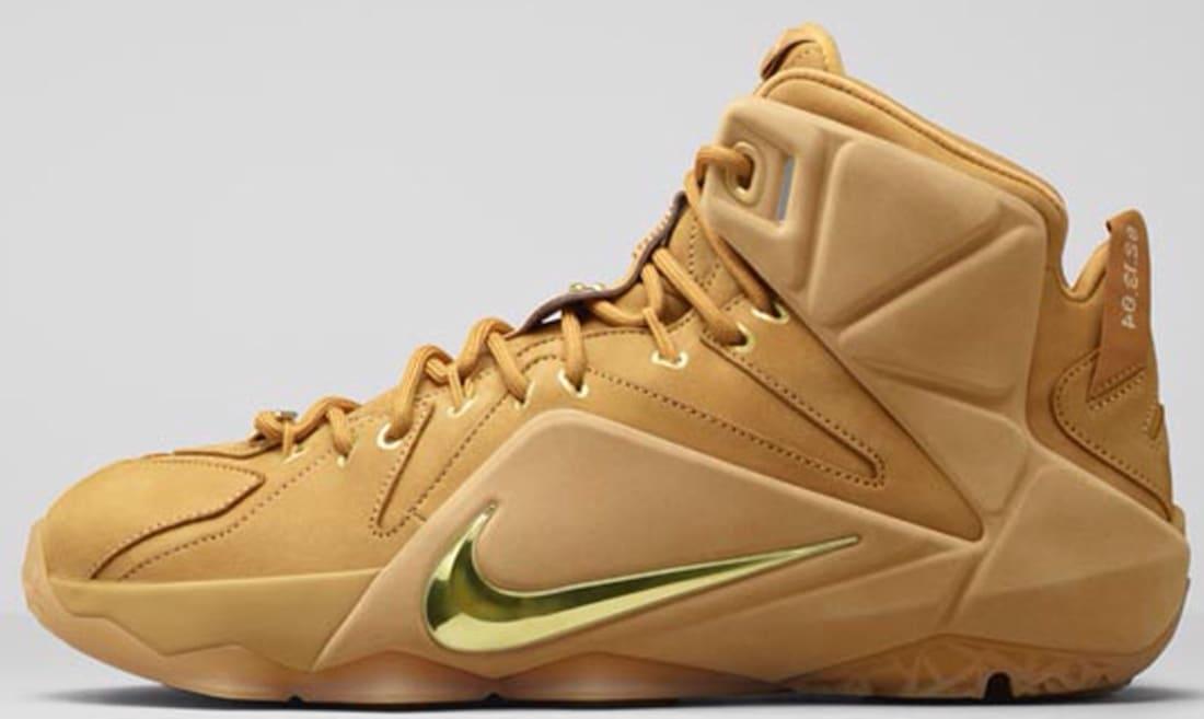 ba1c5641c3ab Nike · Nike LeBron · Nike LeBron 12 (XII). Nike LeBron 12 EXT QS Wheat Metallic  Gold-Wheat