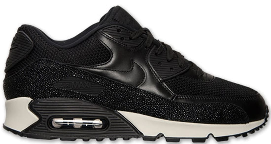 Nike Air Max '90 Leather PA Black/Black-Sea Glass