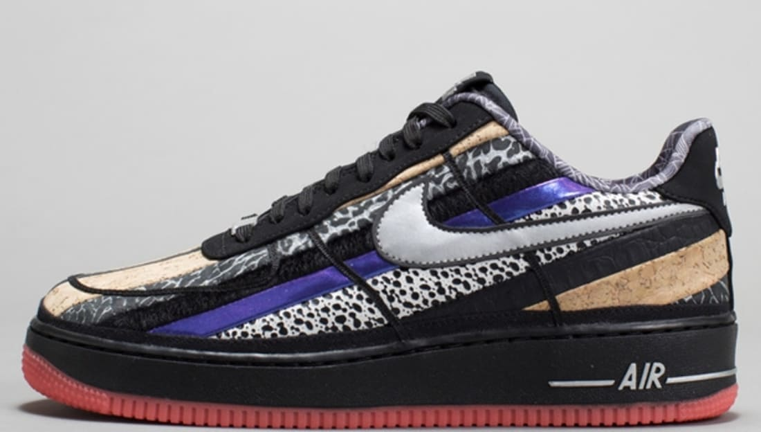 Nike Air Force 1 Low CMFT Premium Black/Atomic Red