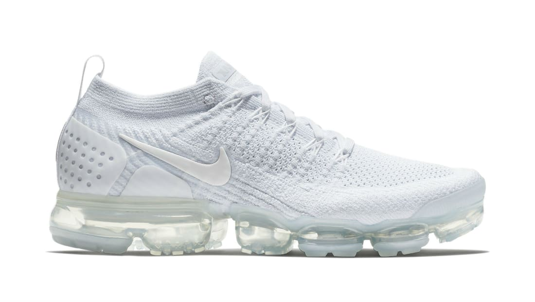 new arrivals 02803 f1264 Nike Air VaporMax Flyknit 2 White/White-Pure Platinum ...