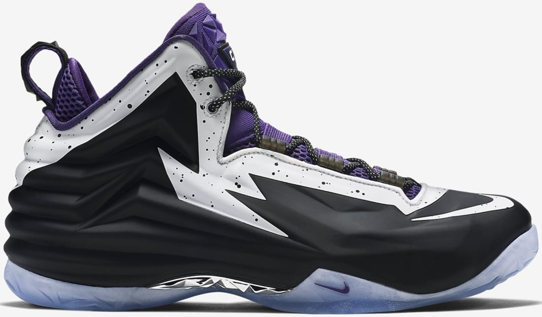 Nike Chuck Posite Black/White-Court Purple