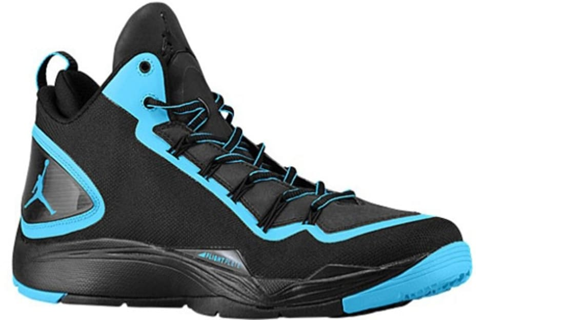 Jordan Super.Fly 2 PO Black/Dark Powder Blue
