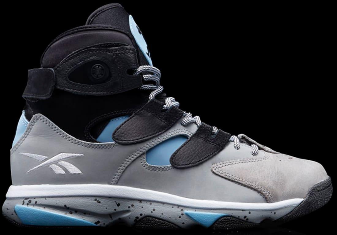 Reebok Shaq Attaq IV Black/Steel Grey-California Blue