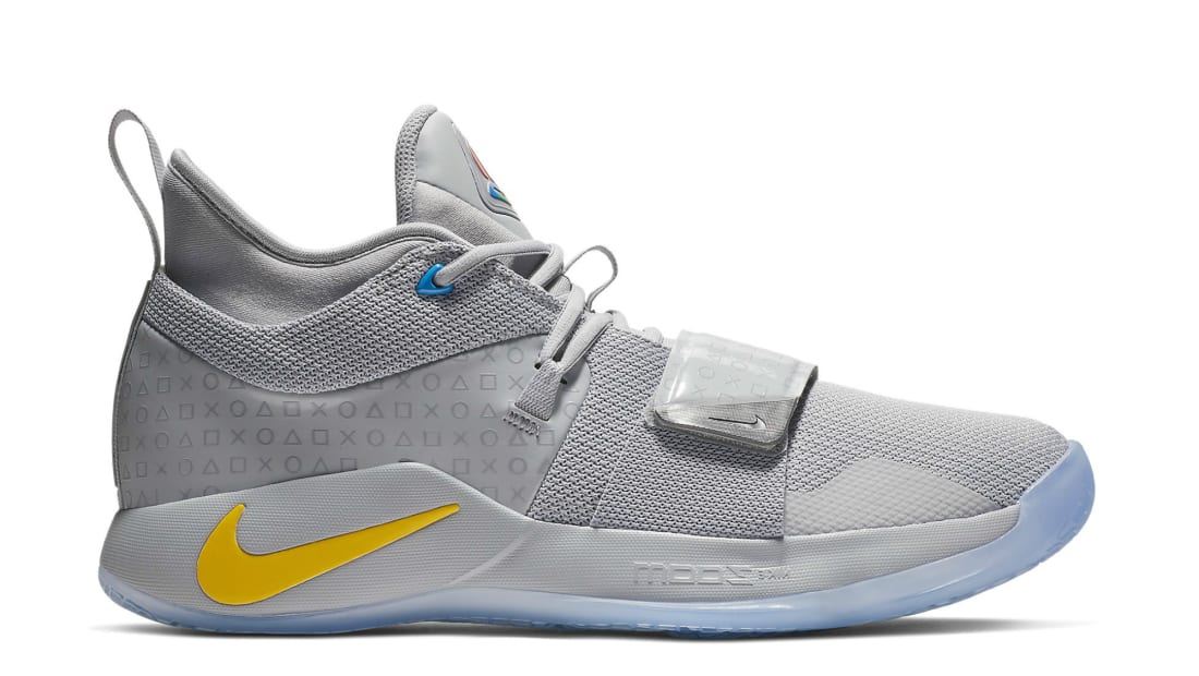 Playstation x Nike PG 2.5 Wolf Grey/Multi-Color