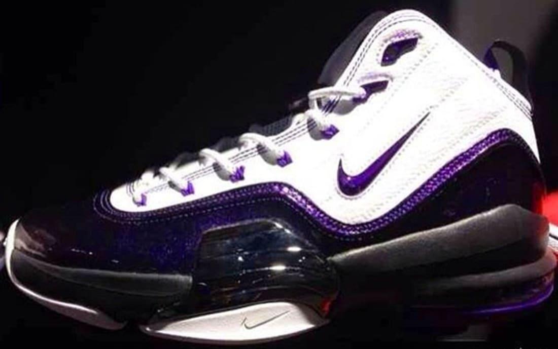 Nike Air Pippen VI White/Court Purple-Black-Metallic Silver