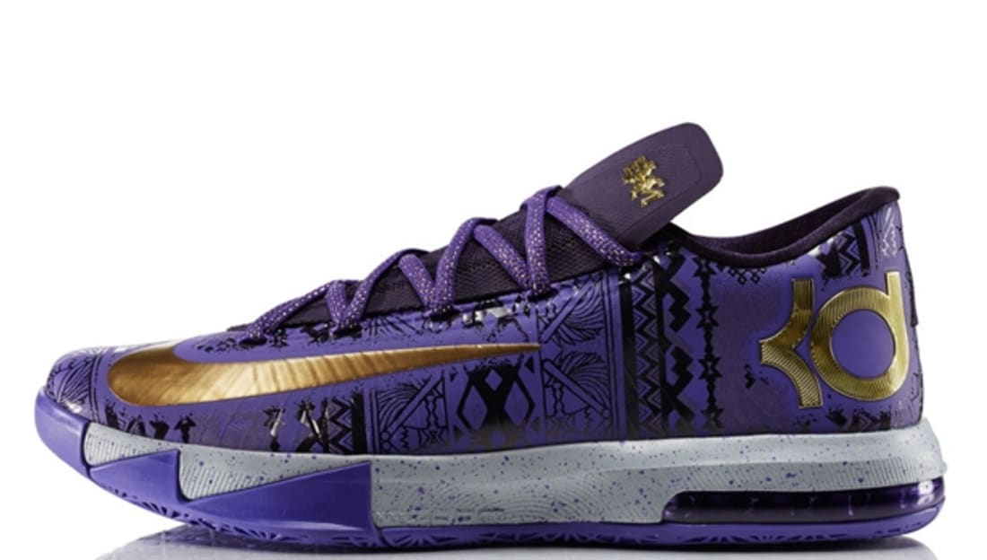 Nike KD VI BHM Purple Venom/Metallic Gold-Purple Dynasty