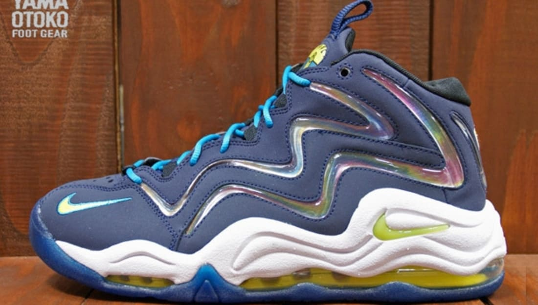 Nike Air Pippen I Midnight Navy/Sonic Yellow-Tropical Teal