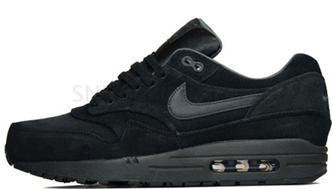 quality design 1287b 9cfd4 Nike Air Max 1 Premium Black Anthracite-Anthracite