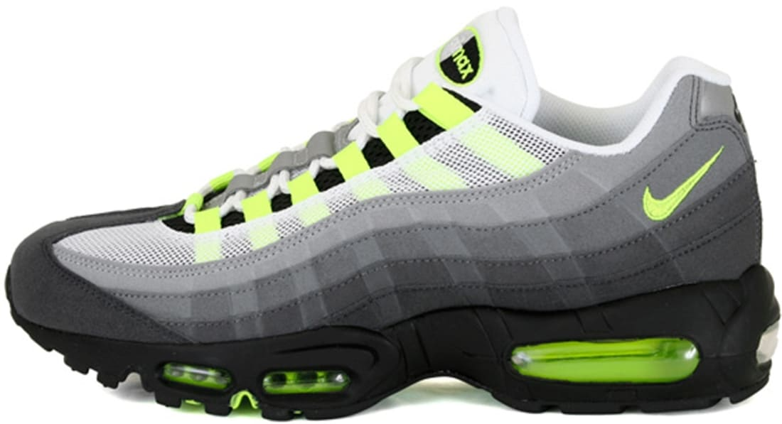 Nike Air Max '95 OG Black/Volt-Medium Ash-Dark Pewter