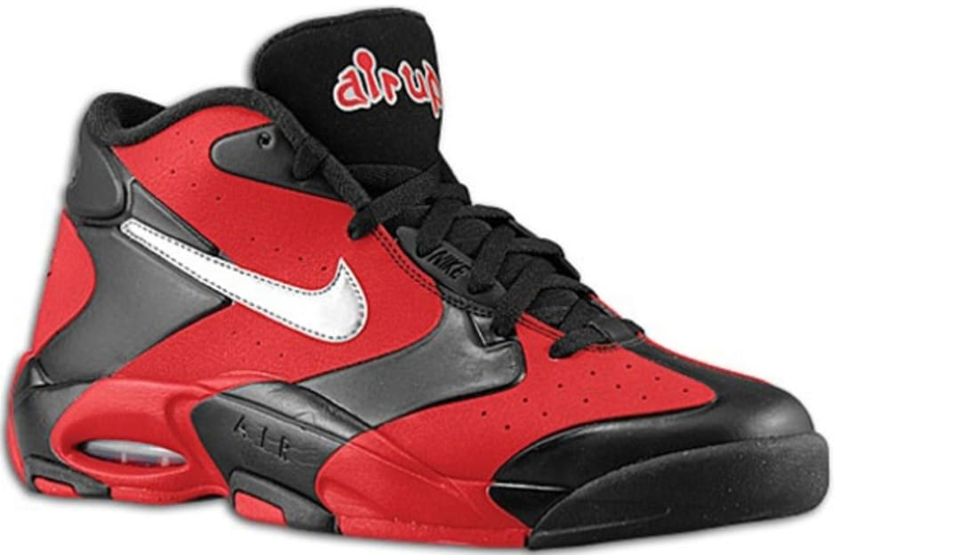 promo code f464f 7c9f0 Nike Air Up '14 Black/Metallic Silver-University Red | Nike | Sole ...