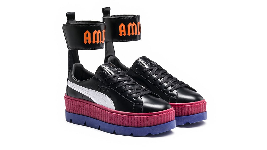 finest selection e59ca 2ad0b Fenty Puma by Rihanna Ankle Strap Creeper