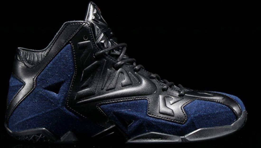 Nike LeBron 11 EXT Denim QS Black/Black-Denim