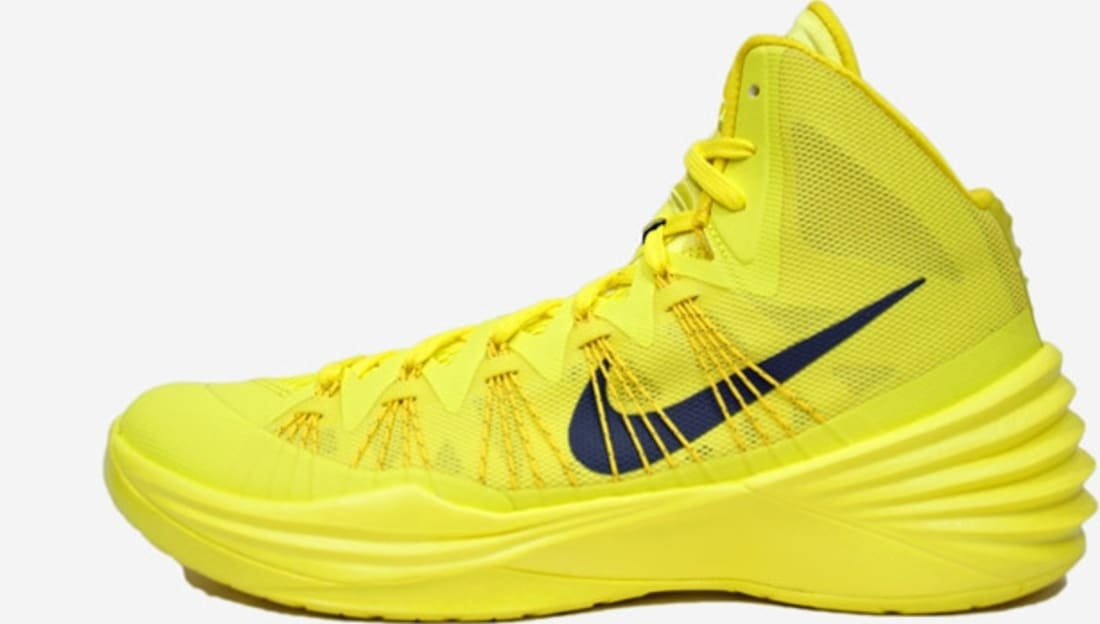 87ad1196fb4 Nike Hyperdunk 2013 Sonic Yellow Dark Grey-Tour Yellow