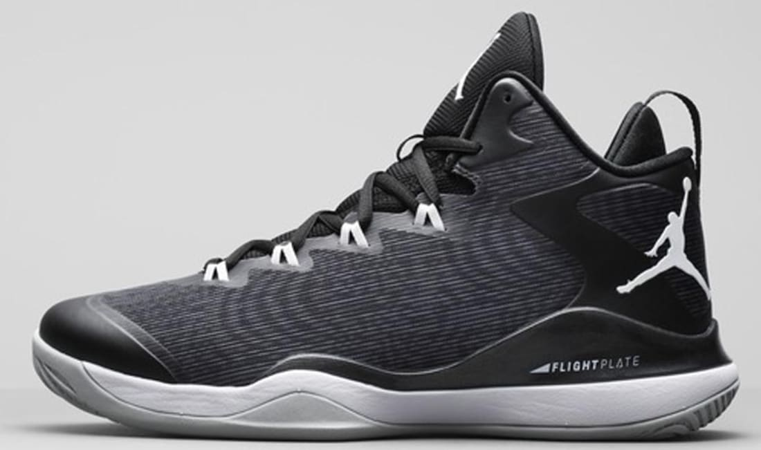 Jordan Super.Fly 3 Black/White-Anthracite-Dark Grey