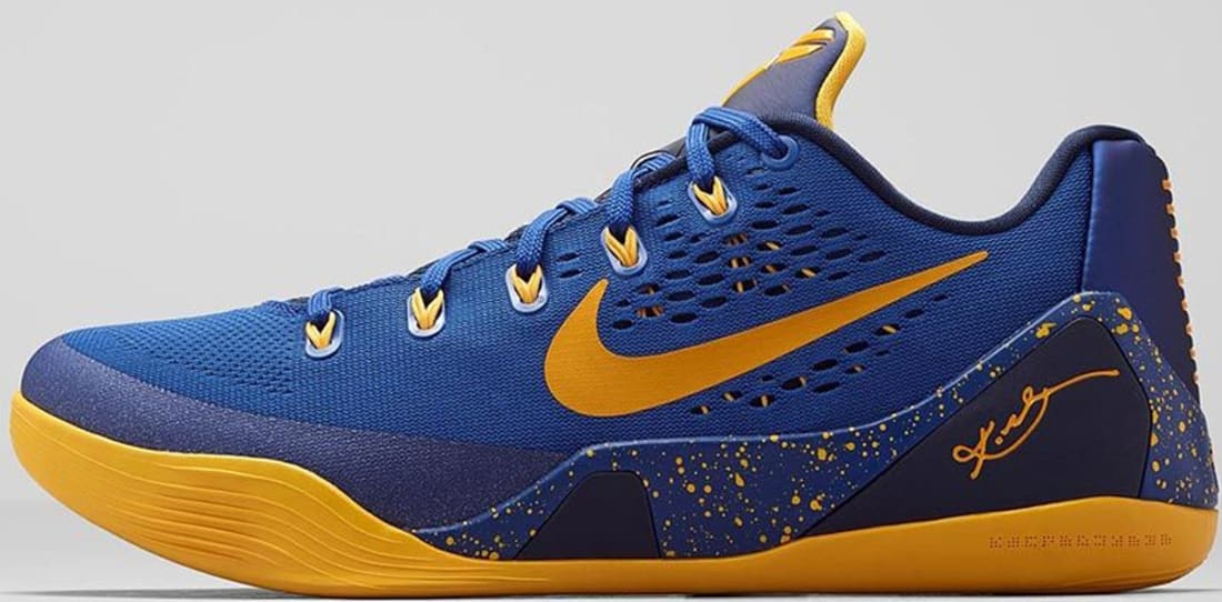 new photos f0567 7adec Nike · Nike Kobe · Nike Kobe 9 (IX). Nike Kobe 9 EM Gym Blue University Gold -Obsidian