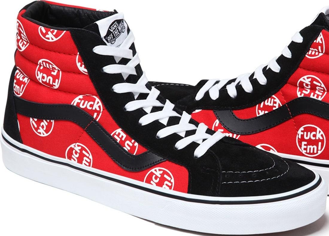 Vans Sk8-Hi Red/Black